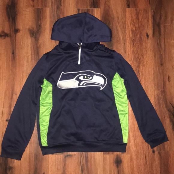 seattle seahawks boys sweatshirt